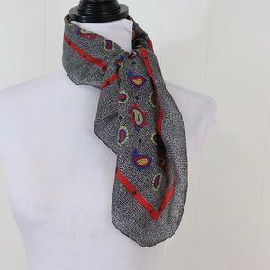 Vintage Sarah Coventry paisley scarf